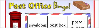 Post Office Bingo Game