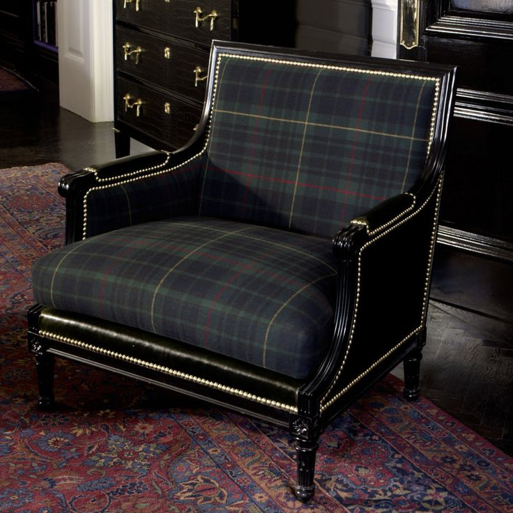Duchess Salon Chair - Chairs / Ottomans - Furniture - Products - Ralph Lauren Home - RalphLaurenHome.com