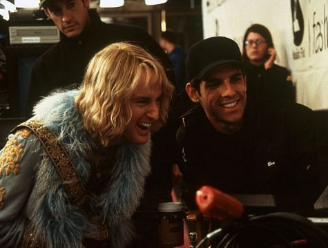 Ben Stiller wrote the part of Hansel specifically for Owen Wilson and said that no one else was even considered for the role. Zoolander (2001)
