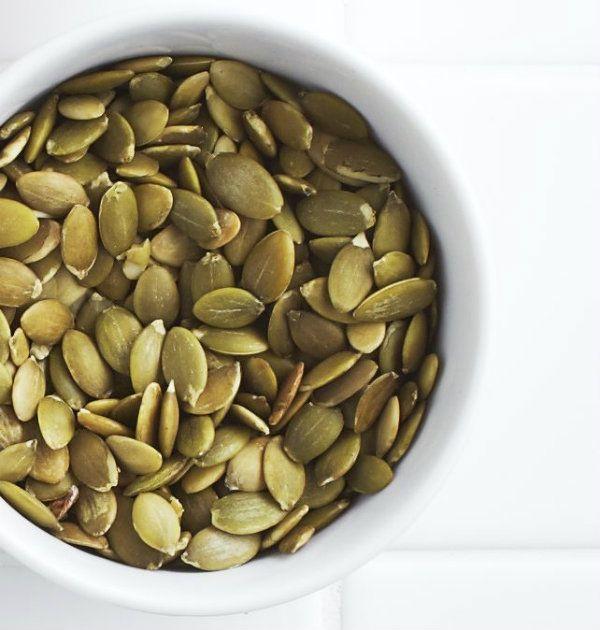 Pepitas (pumpkin seeds) - Chatelaine.com | Snack time! | Pinterest