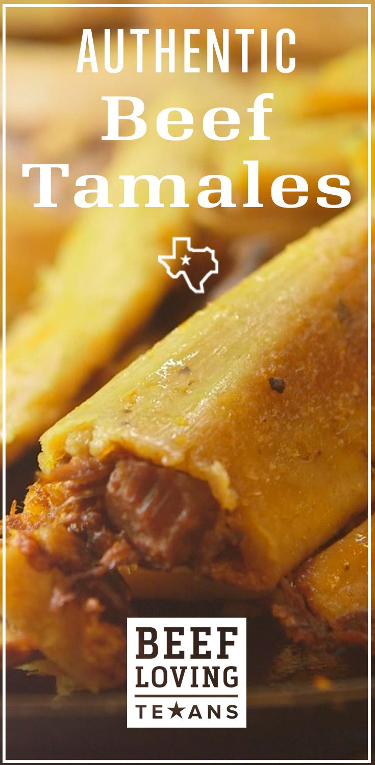 Bring the family together for the holidays over this homemade beef tamale recipe.