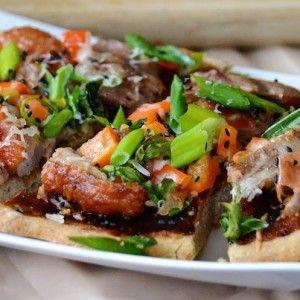 Eenden Pizza met Hoisin Saus