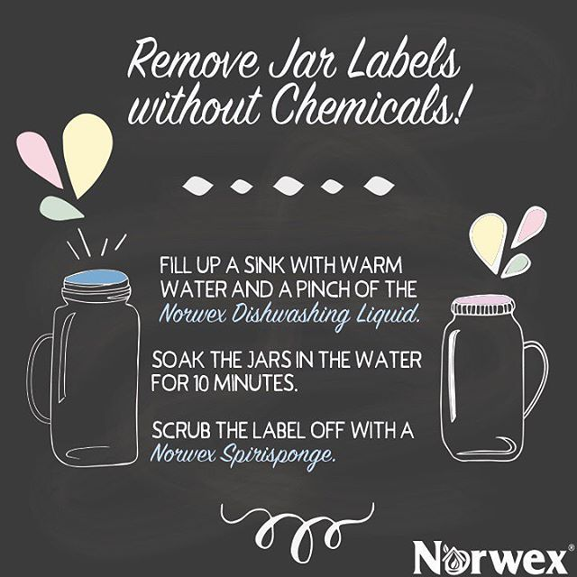 Check out these 3 easy and quick steps to remove jar labels without chemicals!
