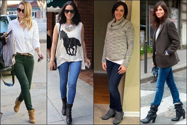 flat ankle boots with jeans - photo #26