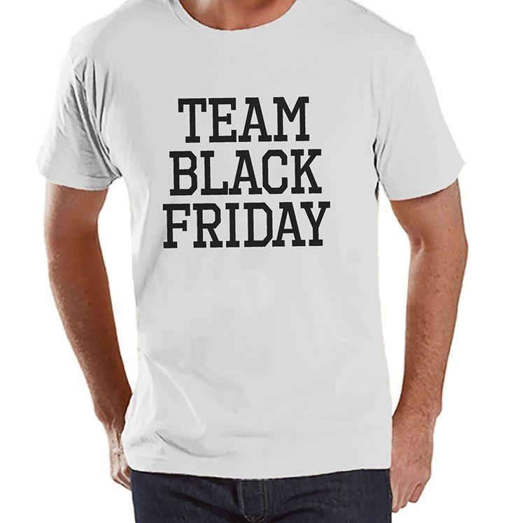 Custom Party Shop Men's Team Black Friday T-Shirt