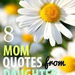 Mom daughter quotes