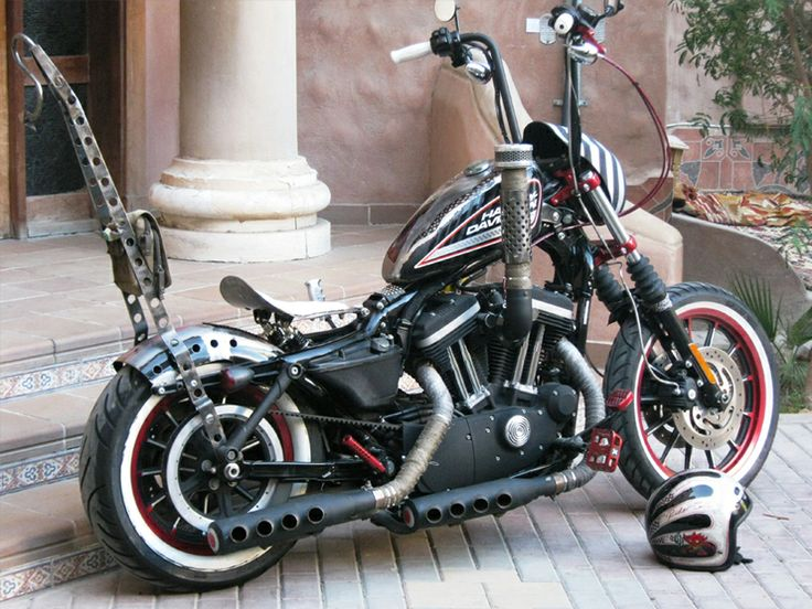 Now This Is A Custom Sportster Motorcycles Pinterest Custom