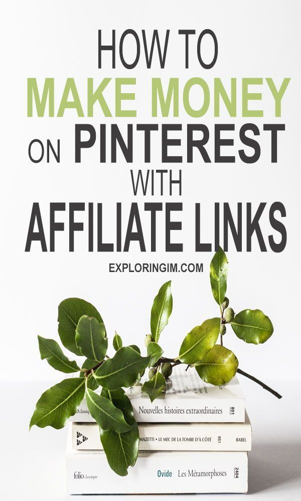 How to Make Money on Pinterest With Affiliate Links – Cherbear Creative
