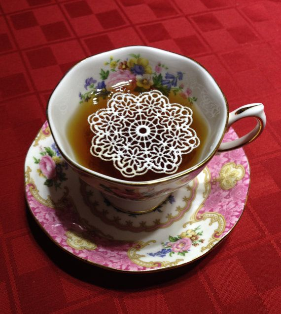 9 Sugar Doilies 2.5 Edible Anastasia Doily Tea by SweetMarveLace