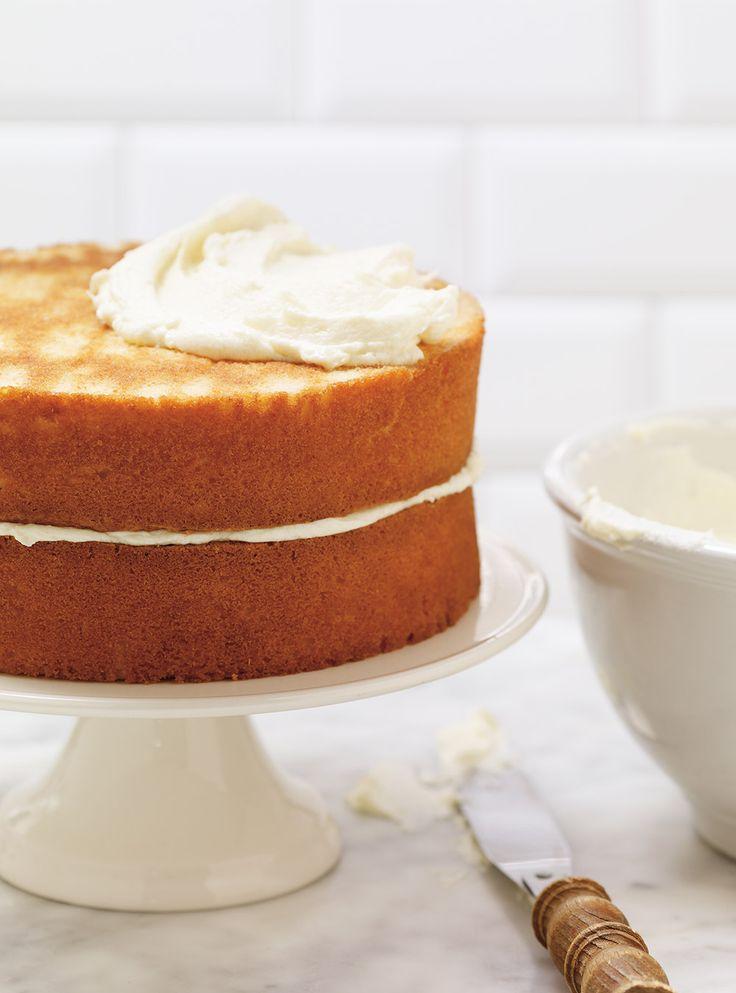 Recette de Ricardo de gâteau à la vanille (le meilleur)