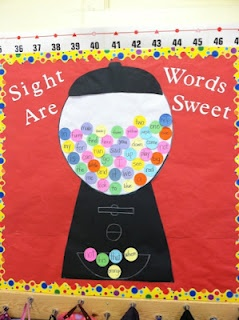 Sight words are sweet!