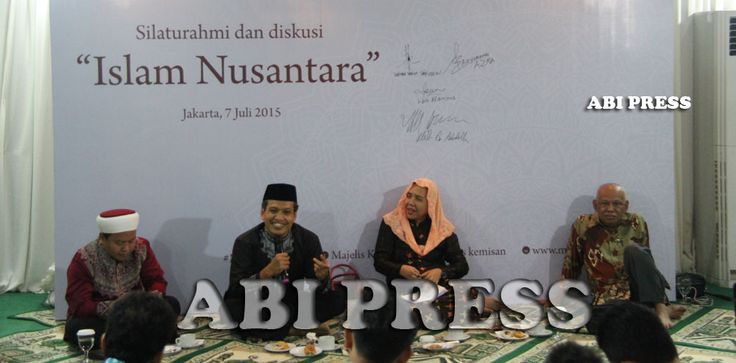 """Ada Apa Dengan Islam Nusantara? http://goo.gl/Vw3EeK """"Islam yang inklusif, toleran dan akomodatif itu hanya ada di Indonesia"""", tegas Azyumardi Azra berlanjut pada pribumisasi, yaitu praktik budaya yang diadopsi melalui proses Islamisasi sejumlah budaya yang ada di masyarakat. Sehingga dengan semua proses tersebut membuat Islam melekat dan tidak bisa dipisahkan dengan budaya yang ada di Indonesia"""