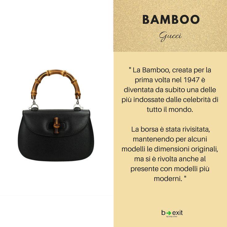 Qual è la vostra borsa 👜 dei sogni ✨?La BAMBOO di GUCCI?