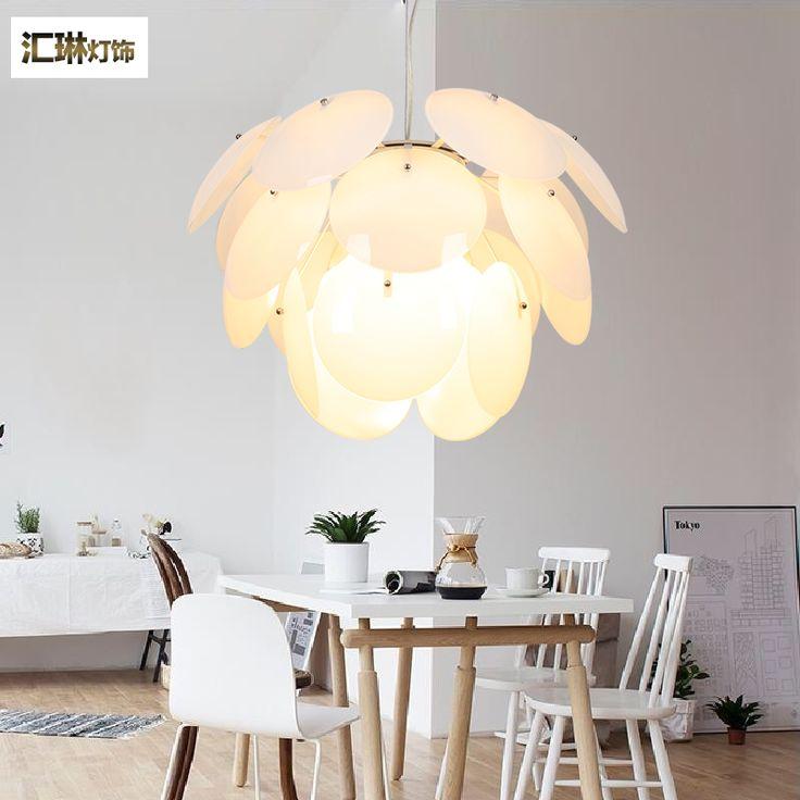 После того, как скандинавской современной минималистской моды творческой личности шишковидной лампы спальни гостиной огни ресторан стеклянная люстра - Taobao
