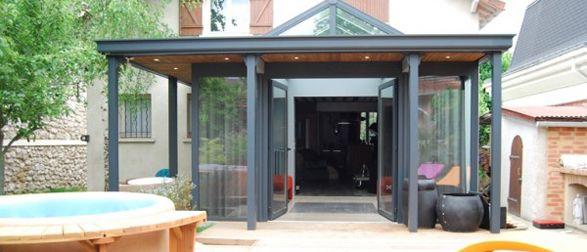 17 meilleures images propos de v randas grandeur nature for Amenagement interieur veranda