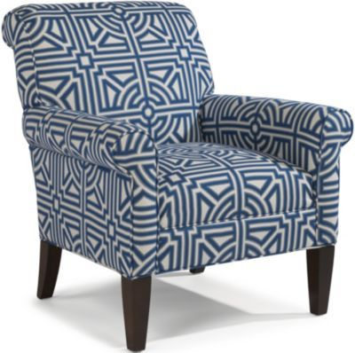 $819 Homemakers Flexsteel Newburgh Geometric Accent Chair