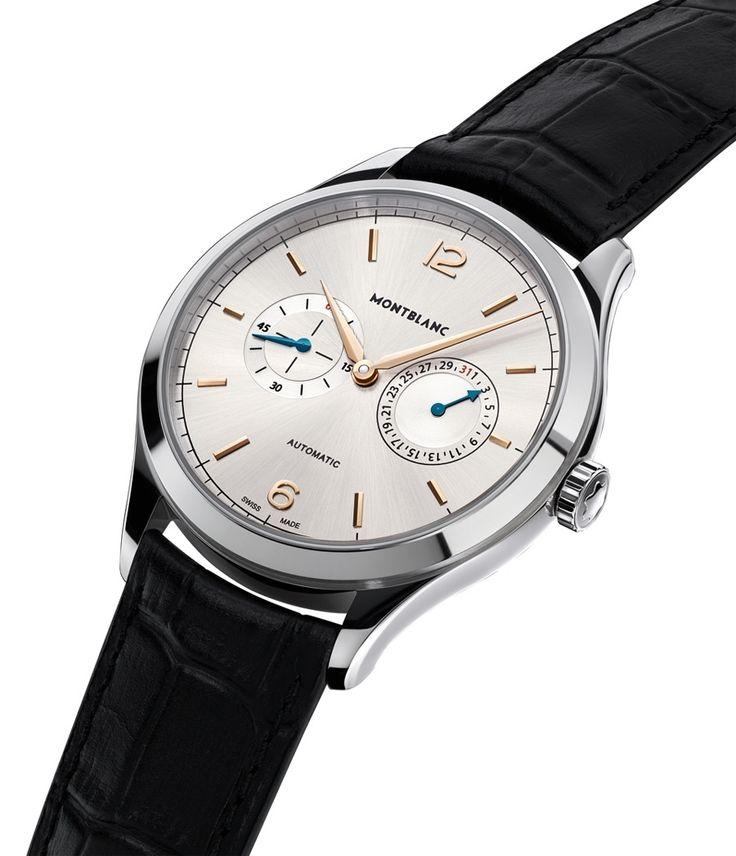 Montblanc: Montblanc: Heritage Chronométrie Twincounter Date » Das Uhren Portal: Watchtime.net
