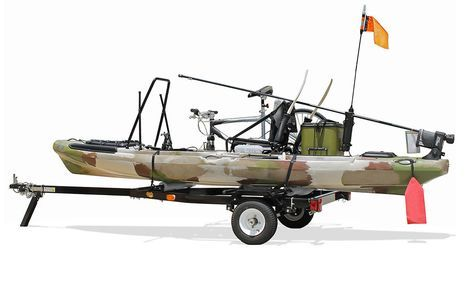 Right On Multi Sport Kayak Trailer