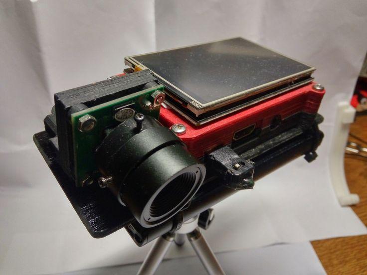 New raspberry portable camera