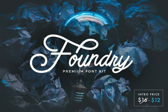 (30% OFF) Foundry Font Pack  by Micromove on @creativemarket