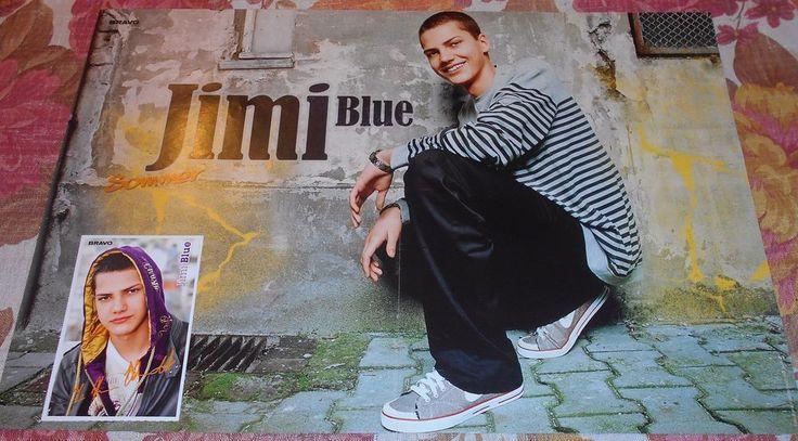 Jimi Blue Ochsenknecht - A3 Poster + Autogrammkarte