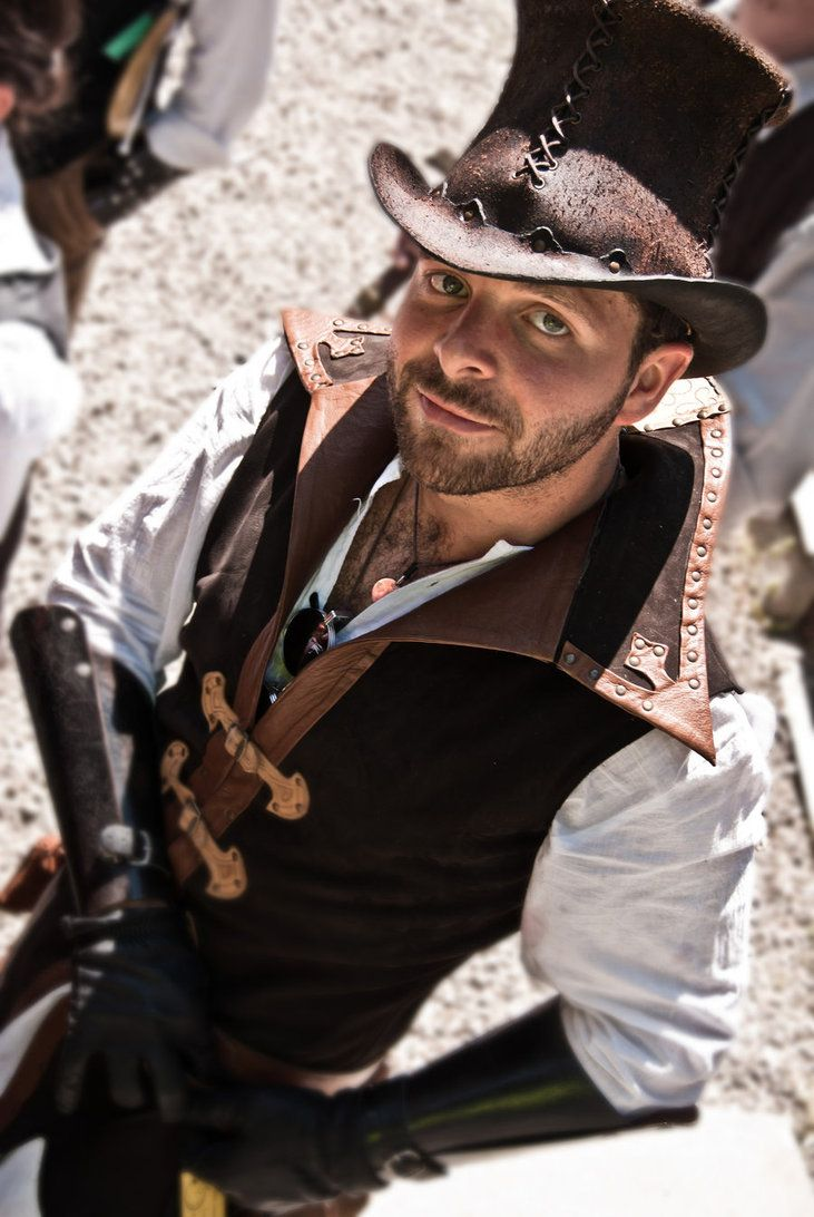 Steampunk mens clothing store