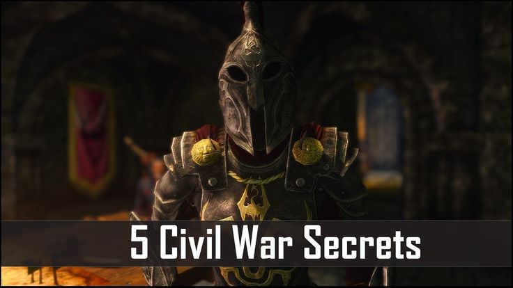 Skyrim: 5 Civil War Facts That You May Have Missed - The Elder Scrolls 5 Secrets #games #Skyrim #elderscrolls #BE3 #gaming #videogames #Concours #NGC