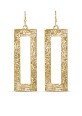Towne  Reese  Gold-Tone Jordan Earrings