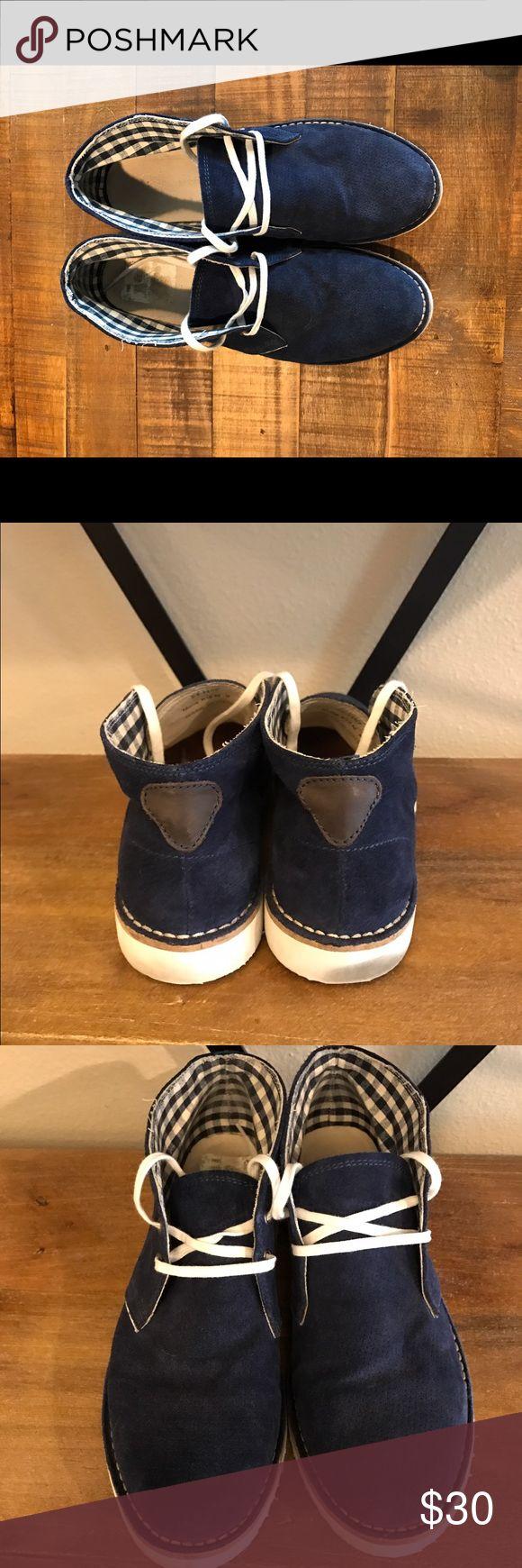 Johnston & Murphy Blue Chukka Boots Blue chukka boots in need of new home! Johnston & Murphy Shoes Chukka Boots