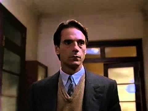 M  Butterfly (1993) Jeremy Irons , directed by David Cronenberg. In 1960s China, French diplomat Rene Gallimard falls in love with an opera singer, Song Liling - but Song is not at all who Gallimard thinks she is.
