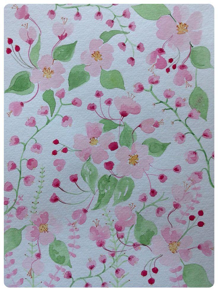 Apple blossom By rachael dunn