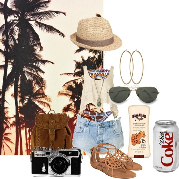 """Strolling Cali Style"" by brooklyn-damron on Polyvore"