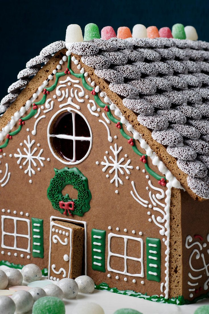 Gingerbread House Recipe With Images Gingerbread House Make A Gingerbread House Gingerbread