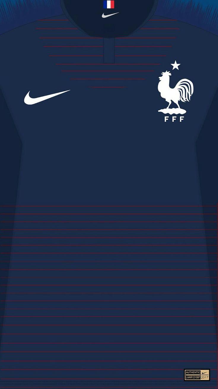 France 18-19 kit home ?