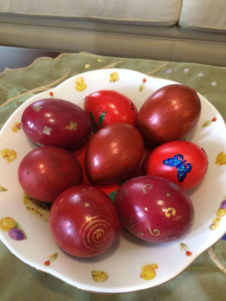 DIY Easter eggs