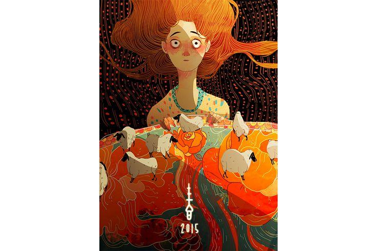 Ilustração de personagens memoráveis - Crystal Kung | Wacom | Wacom
