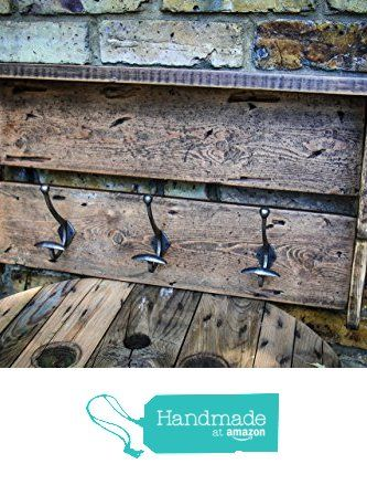 Reclaimed Timber Coat Hook with Top Shelf by MooBoo Home from MooBoo Home https://www.amazon.co.uk/dp/B01LBQPC9K/ref=hnd_sw_r_pi_dp_2tP5xb3KFTERF #handmadeatamazon