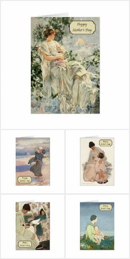 Vintage Mother's Day Cards - Jessie Willcox Smith, Howard Chandler Christy, Honor Appleton, Agnes Richardson, Anne Anderson, Ethel Franklin Betts and more. Make your Mother's day happy with a beautiful Golden Age illustration that she'll want to keep.