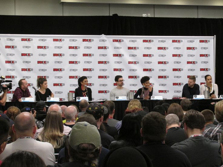 FanExpo made this fan highlight their day got to meet The Expanse team. #Donkeyballs