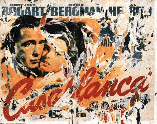 Casablanca- Mimmo Rotella