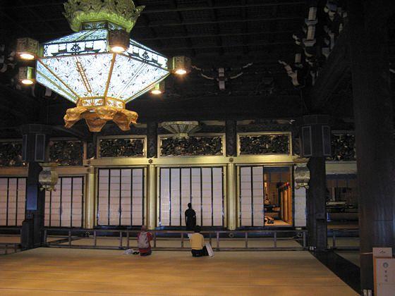 Japanese Temple Lantern | Nishi Honganji Temple - Kyoto, Japan