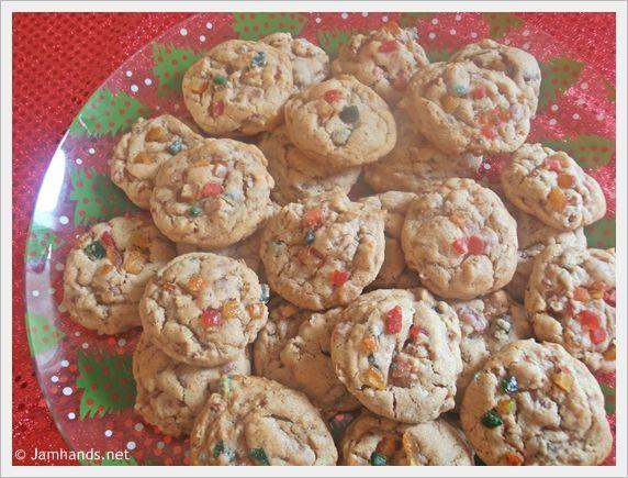 Fruitcake Cookies With Sweetened Condensed Milk
