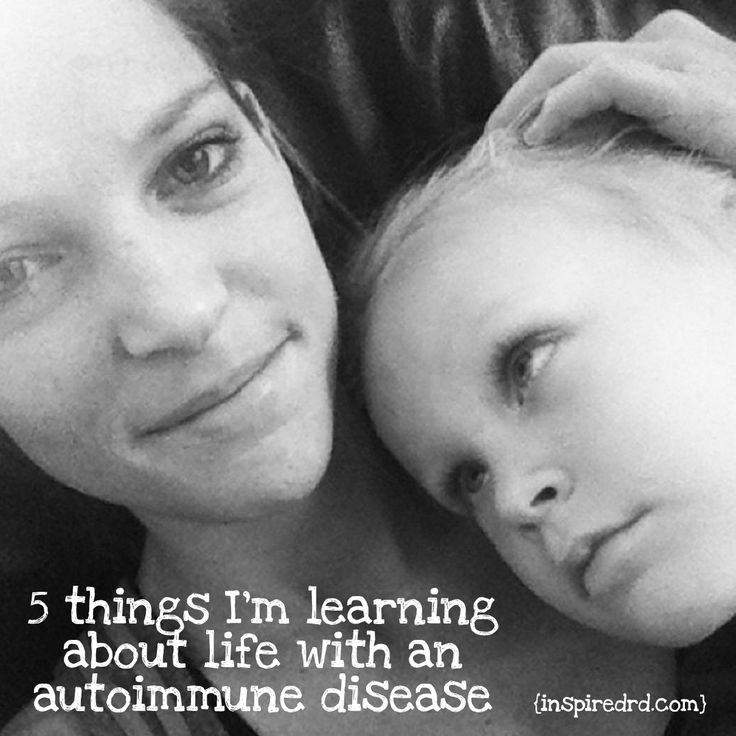 5 Things I'm Learning about Life with an Autoimmune Disease (inspiredrd.com) #celiac