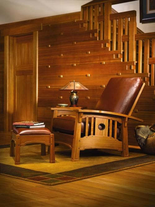 Fabulous Stickley  No TV just your favorite book and chatting.  These days are still in our midst if we create them with friends and family!
