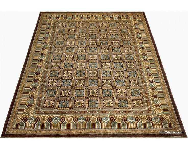 Афганский ковер из шерсти