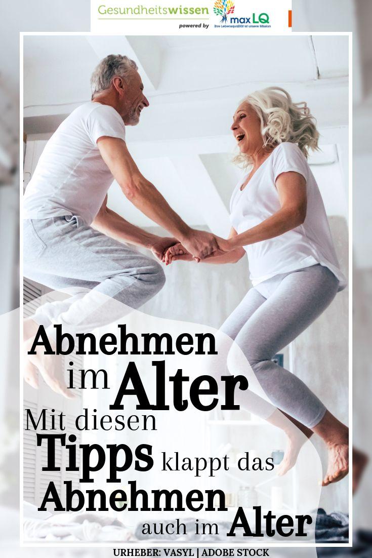 Abnehmen im Alter: Tipps: Wie Sie erfolgreich im Alter 40, 50, 60 abnehmen | Abnehmen ältere Frauen