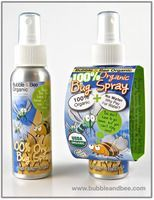 Bubble & Bee 100% Organic Insect Repellent. It's a bit oily but works great. Love having it for the kiddos.