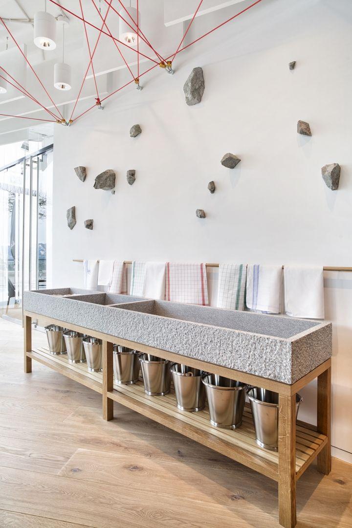 saltz el restaurante de moda en zrich revista interiores ideas de decoracin de