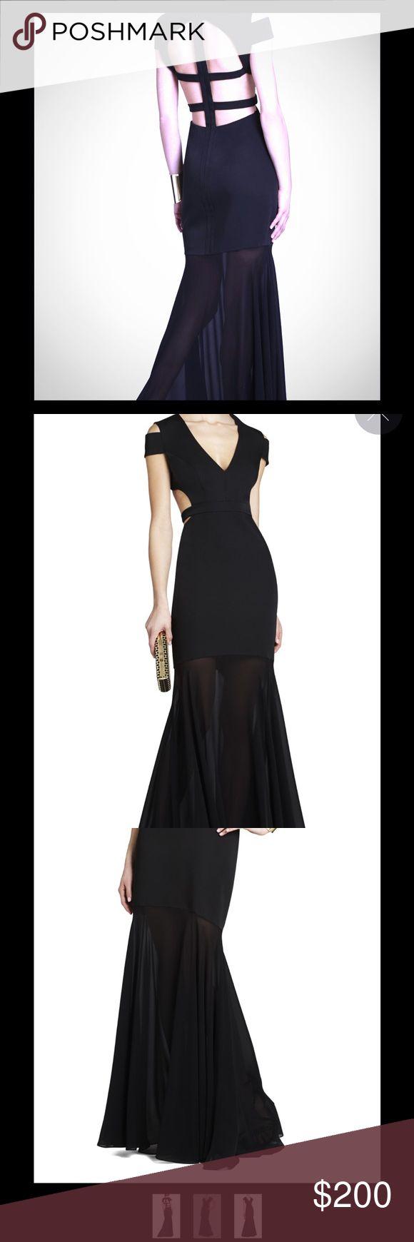 "⭐️ FINAL SALE ⭐️ BCBG MAXAZRIA ""Ava"" Cutout Gown BCBG MAXAZRIA ""Ava"" Cut out Gown still for sell on site. Shown above worn by Nina Debrov (Vampire Diaries) MAKE OFFERS BCBGMaxAzria Dresses Maxi"