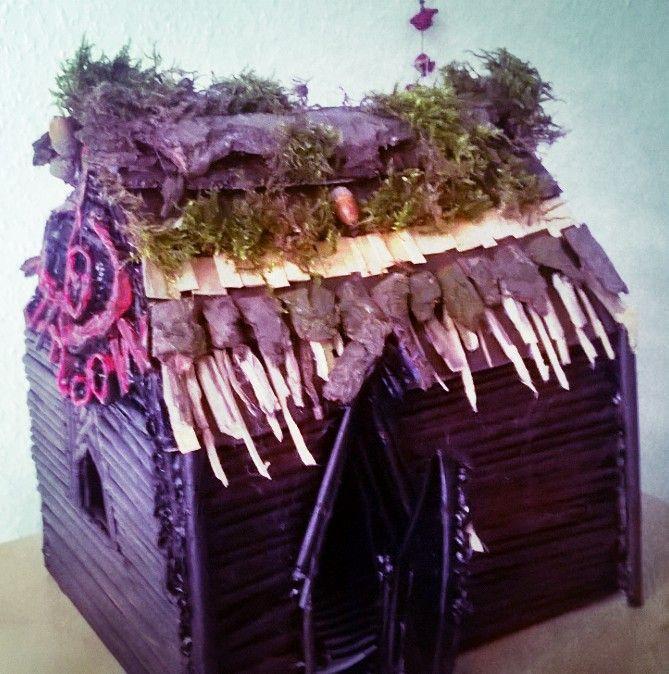 Wichtelhaus von Poeta Immortalis - wie du die Wichtel rufen kannst, erfährst du unter:  http://nebel-all-raunen.blogspot.de/2016/01/ritual-die-wichtel-und-elfen-rufen.html